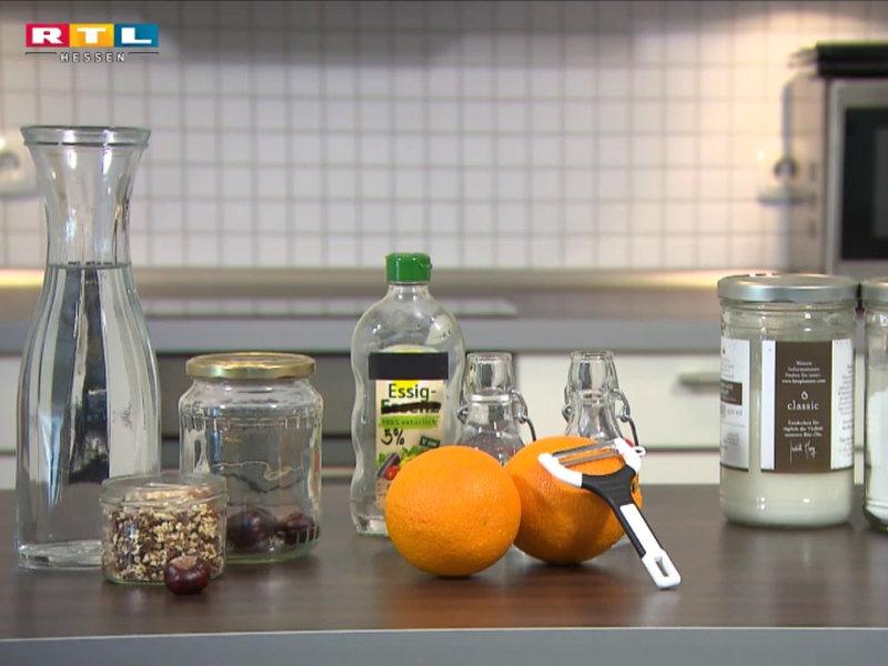 Haushaltsprodukte selbst herstellen mit RTL Hessen