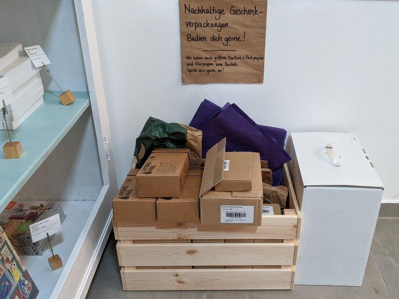 Verpackungen zum Mitnehmen