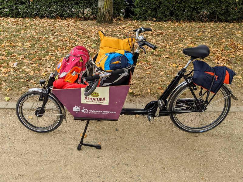 Lastenräder in Frankfurt kostenlos mieten
