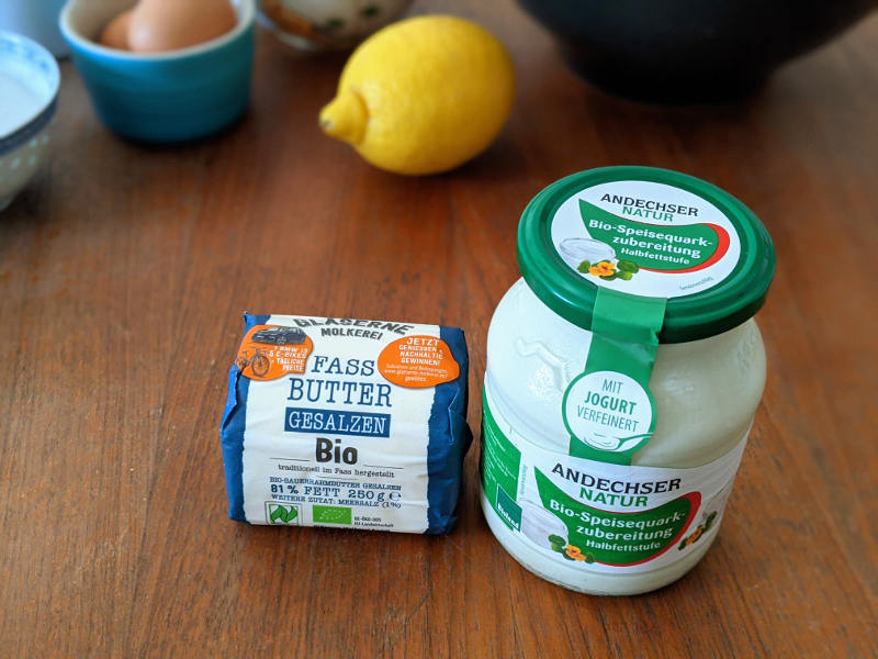 Butter und Quark plastikfrei