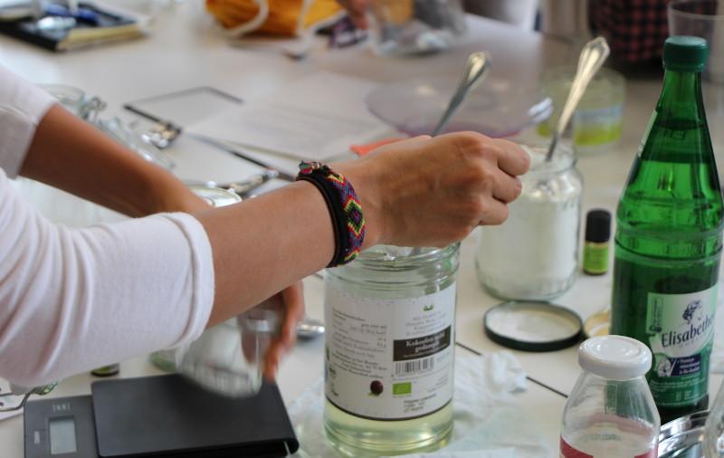 DIY Deo beim Zero Waste Workshop