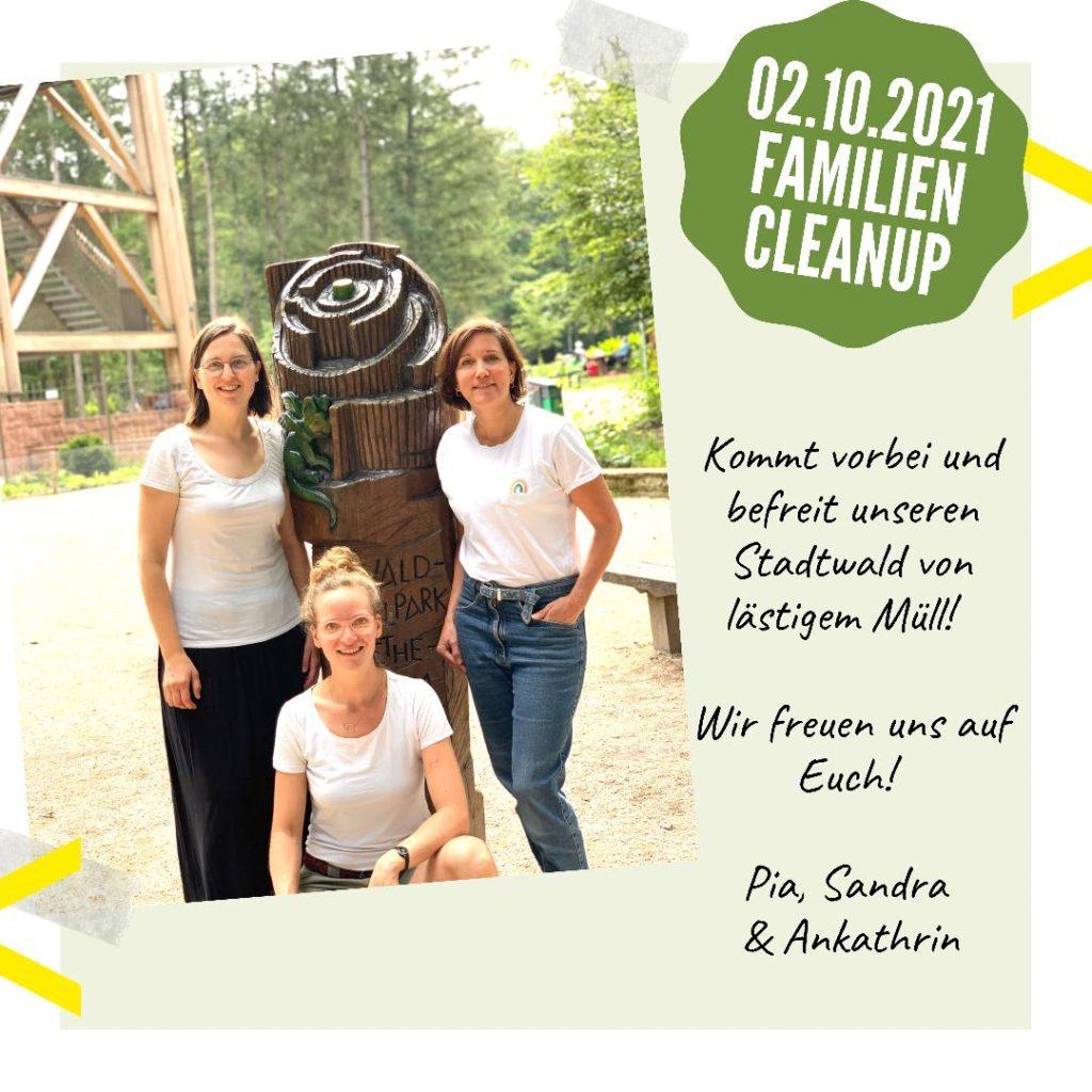 Familien Cleanup am Goetheturm » Orga-Team