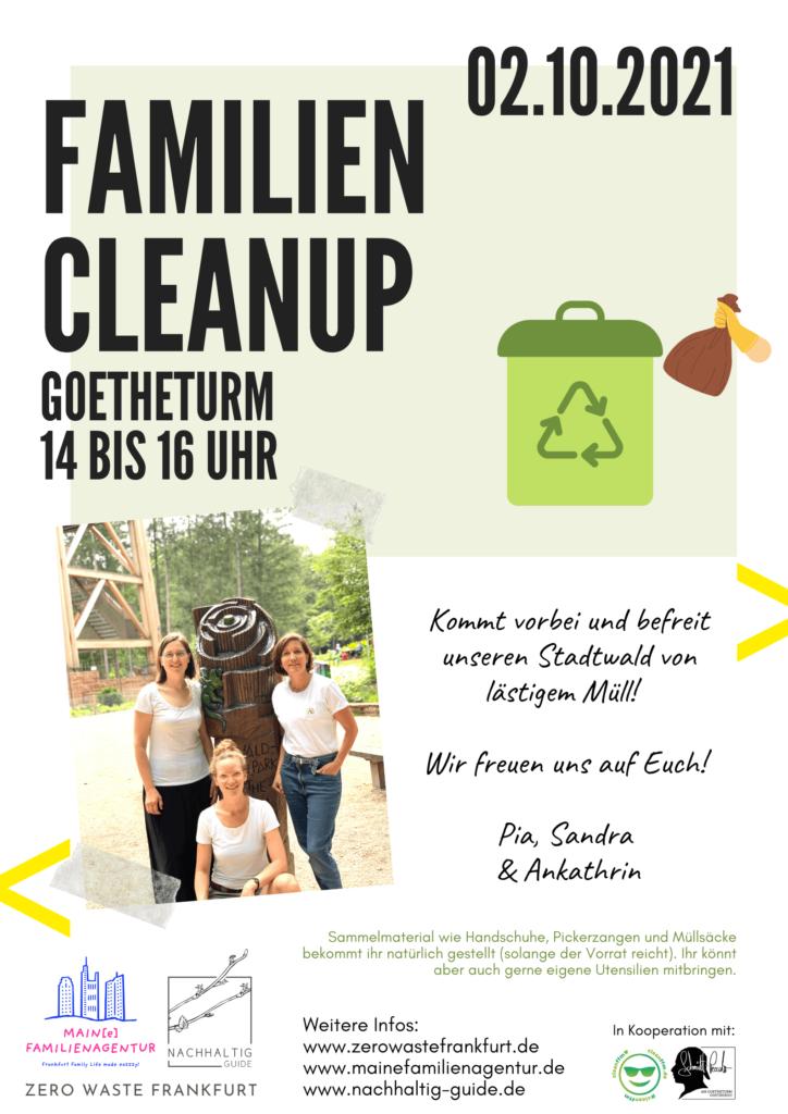 Familien Cleanup am 02.10.2021