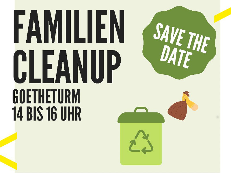 Familien Cleanup am Goetheturm (02.10.2021)