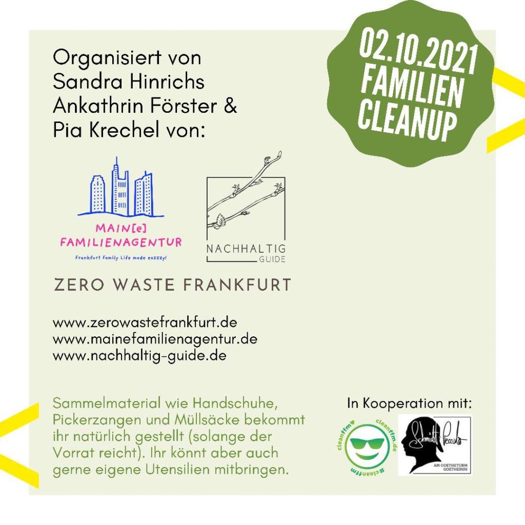 Familien Cleanup am Goetheturm » Infos